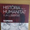 Libros: SÀPIENS. HISTÒRIA DE LA HUMANITAT I LA LLIBERTAT. VOL 6. / LIBRO NUEVO.. Lote 55933462