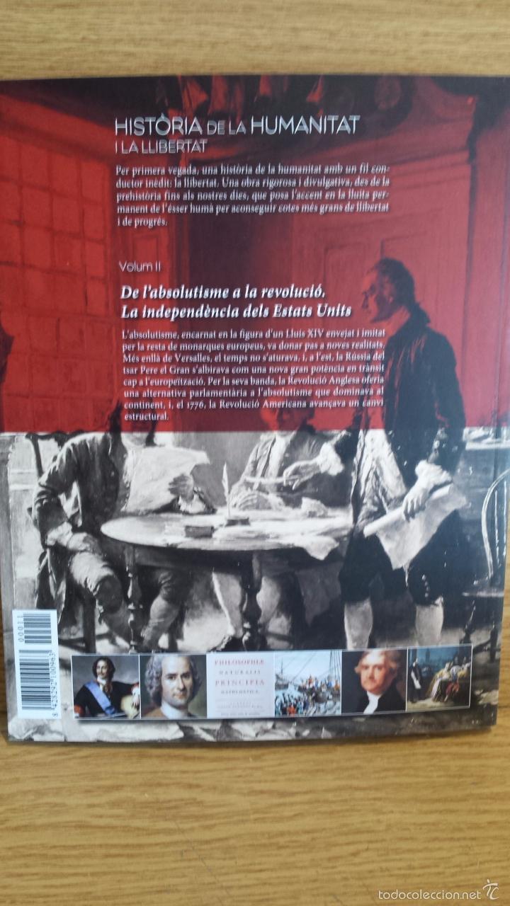 Libros: SÀPIENS. HISTÒRIA DE LA HUMANITAT I LA LLIBERTAT. VOL 11. / LIBRO NUEVO. - Foto 2 - 55934067