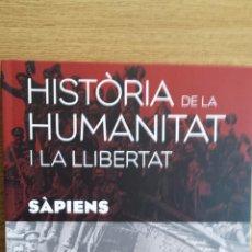 Libros: SÀPIENS. HISTÒRIA DE LA HUMANITAT I LA LLIBERTAT. VOL 15. / LIBRO NUEVO.. Lote 55934225