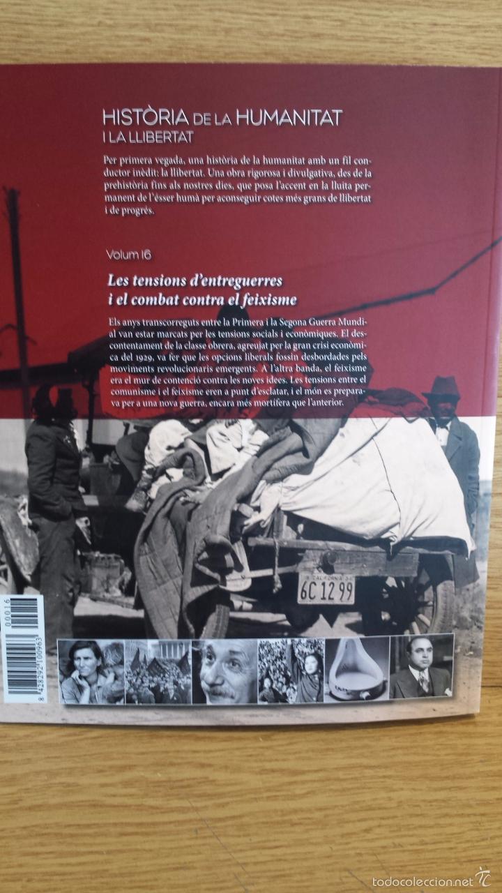 Libros: SÀPIENS. HISTÒRIA DE LA HUMANITAT I LA LLIBERTAT. VOL 16. / LIBRO NUEVO. - Foto 2 - 55934268