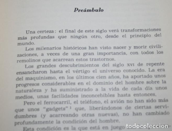 Libros: EN 1990, SERGE BROMBERGER, HOMBRES HECHOS E IDEAS, ALFAGUARA, 1ª EDICION 1967, LIBRO - Foto 4 - 86517240