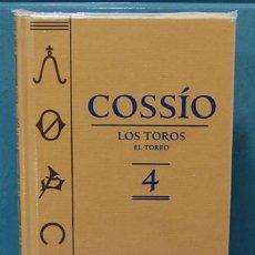 Libros: COSSÍO. EL TOREO, TOMO 4. ESPASA. Lote 87164908