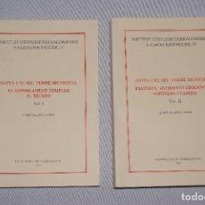 Libros: BATEA I EL SEU TERME MUNICIPAL DE REPOBLAMENT TEMPLER (S. XII-XIII) - JOSEP ALANYÀ I ROIG. Lote 89064603