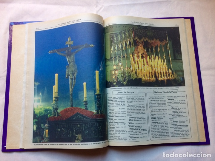 Libros: LA SEMANA SANTA DE SEVILLA PASO A PADO - Foto 4 - 91746458