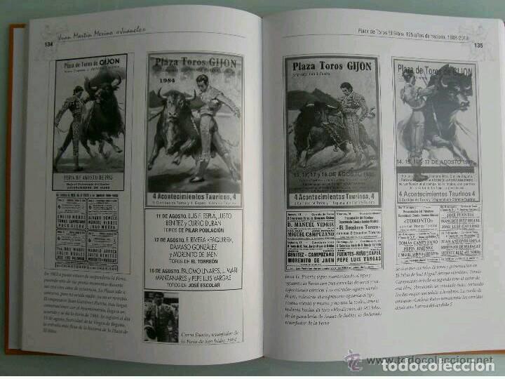 Libros: PLAZA DE TOROS EL BIBIO GIJÓN, JUAN MARTÍN MERINO JUANELE, TAUROMAQUIA, TOREO, TORO, COSO - Foto 3 - 92895670