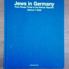 Libros: JEWS IN GERMANY.. Lote 94948499