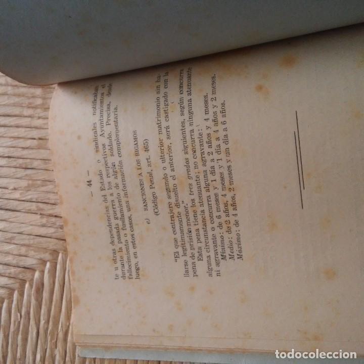 Libros: TARRAGONA - 1944 - FRANCISCO VIVES RECASENS PBRO. - LEGISLACION CANONICO-CIVIL SOBRE AS. MATRIMONIAL - Foto 7 - 95392779