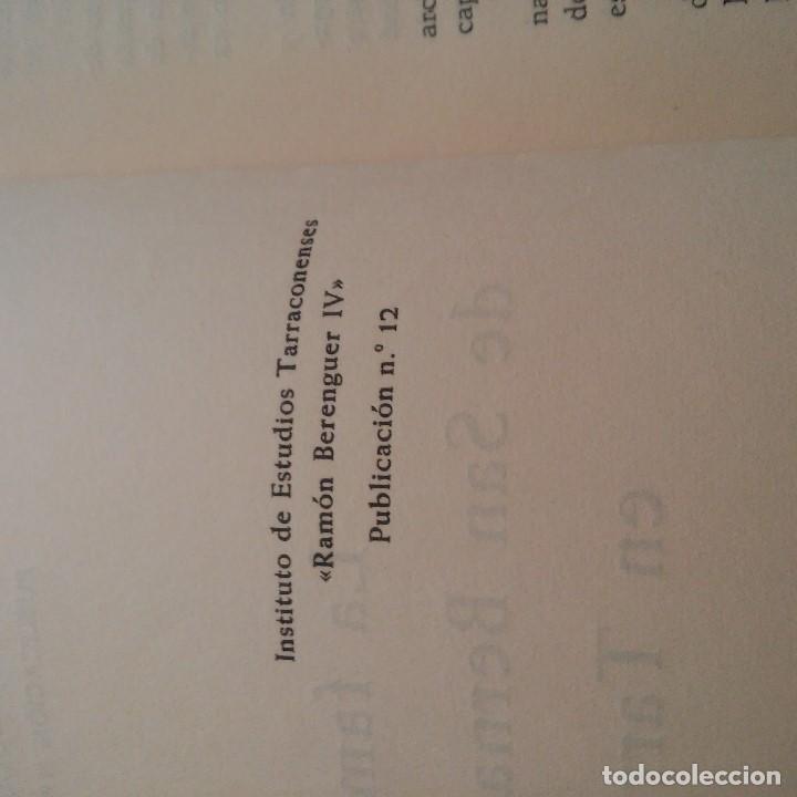 Libros: TARRAGONA - 1955 - LA FAMILIA DE SAN BERNARDO CALVÓ EN TARRAGONA - JUAN SERRA VILARO - Foto 3 - 95392991