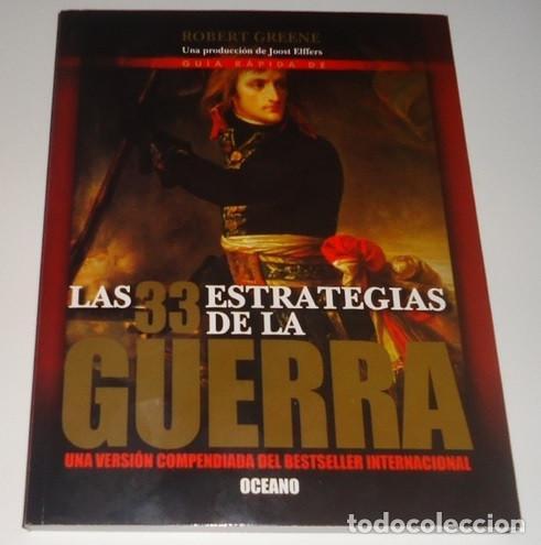 GUÍA RÁPIDA DE LAS 33 ESTRATEGIAS DE LA GUERRA POR ROBERT GREENE (Libros Nuevos - Historia - Otros)