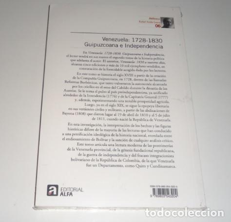 Libros: Venezuela: 1728-1830: Guipuzcoana e Independencia (Historia política de Venezuela) por Rafael Arráiz - Foto 2 - 98440883