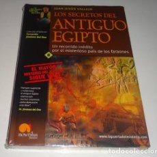 Libros: LOS SECRETOS DEL ANTIGUO EGIPTO POR JUAN JESÚS VALLEJO. Lote 98451627