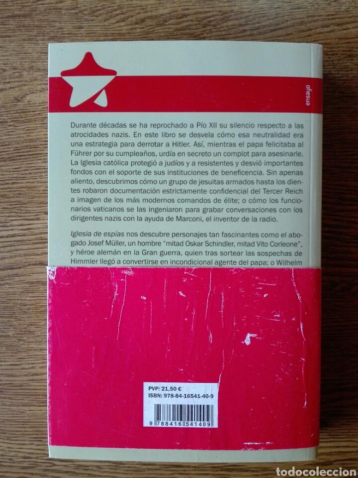 Libros: Iglesia de espías. Mark riebling. - Foto 2 - 99812858