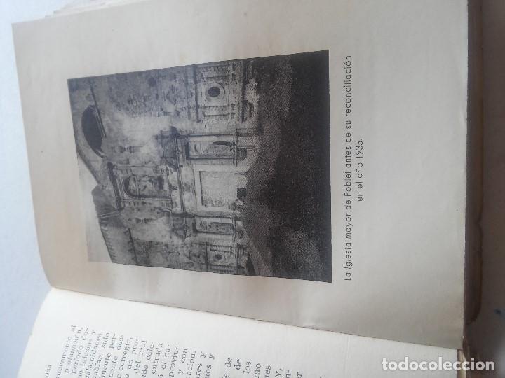 Libros: MONASTERIO DE POBLET - TESORO DE FE Y DE ARTE - F.BLASI Y VALLESPINOSA - ANY 1945 - Foto 6 - 106920707