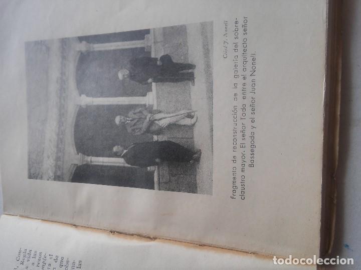 Libros: MONASTERIO DE POBLET - TESORO DE FE Y DE ARTE - F.BLASI Y VALLESPINOSA - ANY 1945 - Foto 7 - 106920707