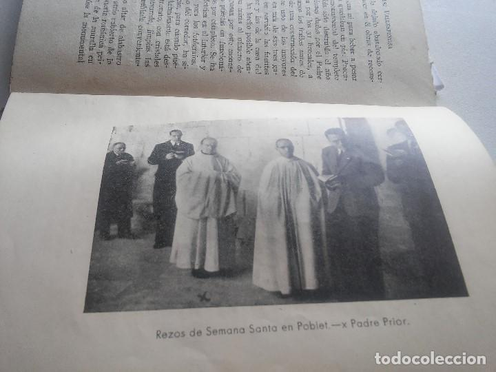 Libros: MONASTERIO DE POBLET - TESORO DE FE Y DE ARTE - F.BLASI Y VALLESPINOSA - ANY 1945 - Foto 8 - 106920707