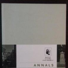 Libros: ANNALS INSTITUT D'ESTUDIS EMPORDANESOS / FIGERES 2013 / VOLUM 44. Lote 111740891