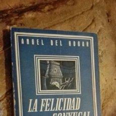 Libros: LA FELICIDAD CONYUGAL SUS OBSTACULOS ANGEL DEL HOGAR . Lote 112318899