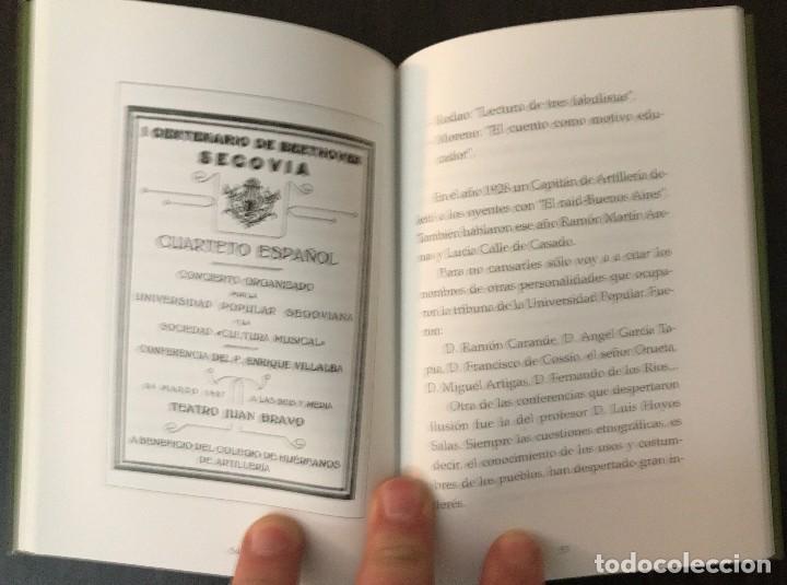 Libros: La Universidad Popular Segoviana 1919-1936 - Manuela Villalpando Martínez - Segovia al Paso - Foto 2 - 177767138