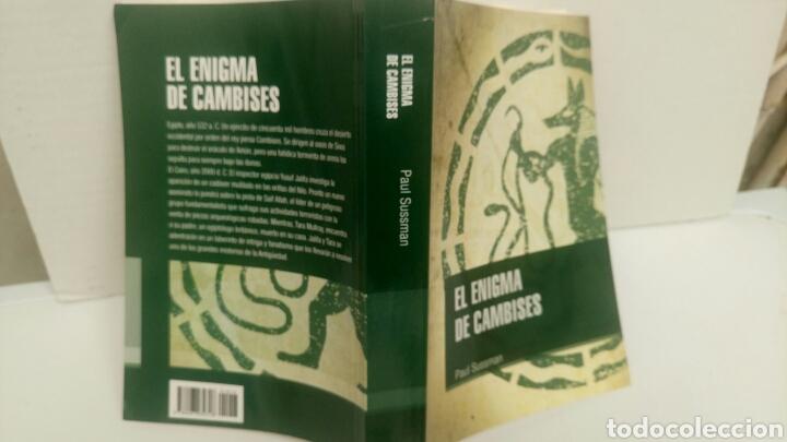 Libros: El enigma de Cambises, de Paul Sussman. - Foto 2 - 112872806