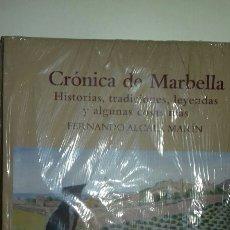 Libros: CRÓNICA DE MARBELLA.HISTORIAS, TRADICIONES, LEYENDAS Y ALGUNAS COSAS MÁS.. Lote 113502580