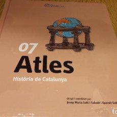 Libros: HISTÒRIA DE CATALUNYA / PILARIN BAYÉS / TOMO 7 - ATLES / PRECINTADO.. Lote 114069875