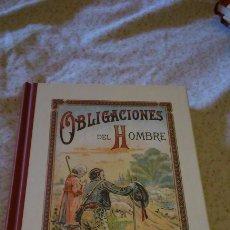 Libros: LIBRO DEL RECUERDO. OBLIGACIONES DEL HOMBRE.. Lote 115253260