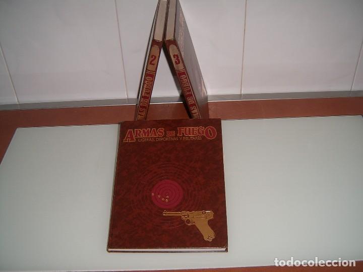 LOTE LIBROS ARMAS DE FUEGO (Libros Nuevos - Historia - Otros)