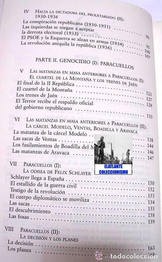 Libros: PARACUELLOS - KATYN - UN ENSAYO SOBRE EL GENOCIDIO DE LA IZQUIERDA - CÉSAR VIDAL TERROR ROJO CHECAS - Foto 9 - 122968423