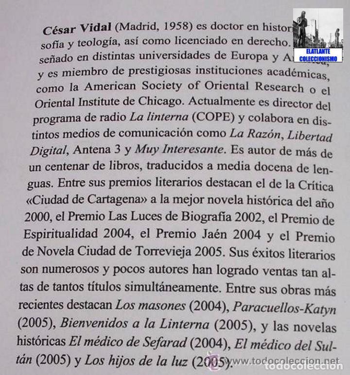 Libros: PARACUELLOS - KATYN - UN ENSAYO SOBRE EL GENOCIDIO DE LA IZQUIERDA - CÉSAR VIDAL TERROR ROJO CHECAS - Foto 14 - 122968423