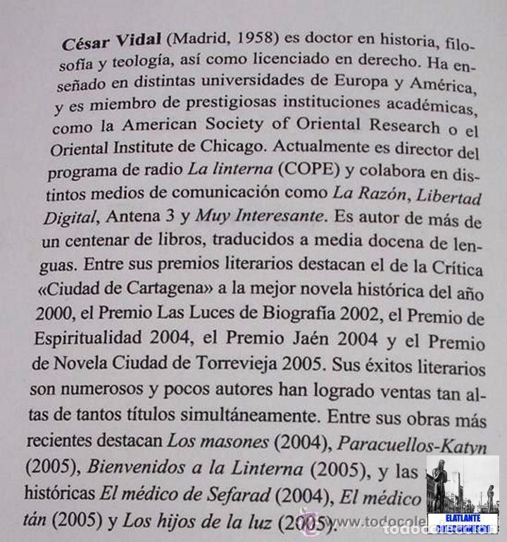 Libros: PARACUELLOS - KATYN - UN ENSAYO SOBRE EL GENOCIDIO DE LA IZQUIERDA - CÉSAR VIDAL TERROR ROJO CHECAS - Foto 15 - 122968423