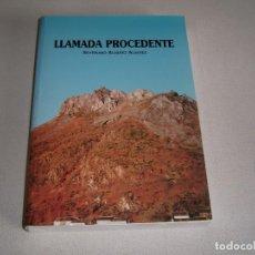Libros: LIBRO LLAMADA PROCEDENTE. Lote 123609243