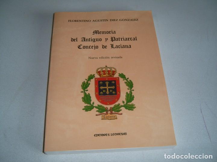 LIBRO MEMORIA DEL ANTIGUO Y PATRIARCAL CONCEJO DE LACIANA (Libros Nuevos - Historia - Otros)