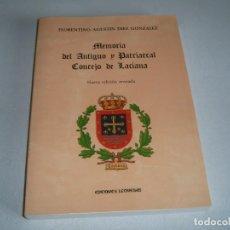 Libros: LIBRO MEMORIA DEL ANTIGUO Y PATRIARCAL CONCEJO DE LACIANA. Lote 123610067