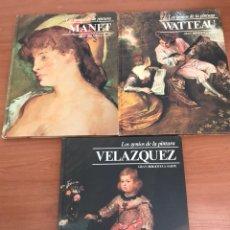 Libros: LOTE LOS GENIOS DE LA PINTURA. Lote 127930134