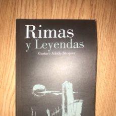 Libros: RIMAS Y LEYENDAS GUSTAVO ADOLFO BÉCQUER. Lote 128150768