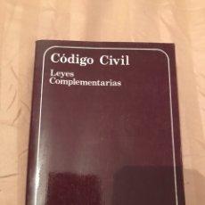 Libros: CÓDIGO CIVIL DE LA REPÚBLICA ARGENTINA. Lote 130524674