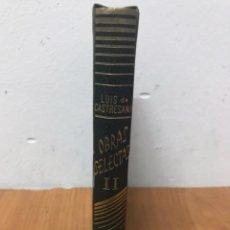 Libros: LUIS DE CASTRESANA, OBRAS SELECTAS N 2. Lote 131202017