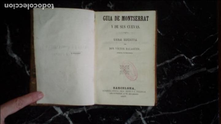 BALAGUER. MONTSERRAT. HISTORIA CATALANA. (Libros Nuevos - Historia - Otros)