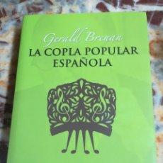 Libros: LA COPLA POPULAR ESPAÑOLA. Lote 133752186