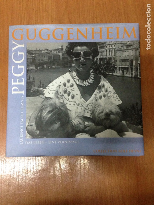 LIBRO PEGGY GUGGENHEIM (Libros Nuevos - Historia - Otros)