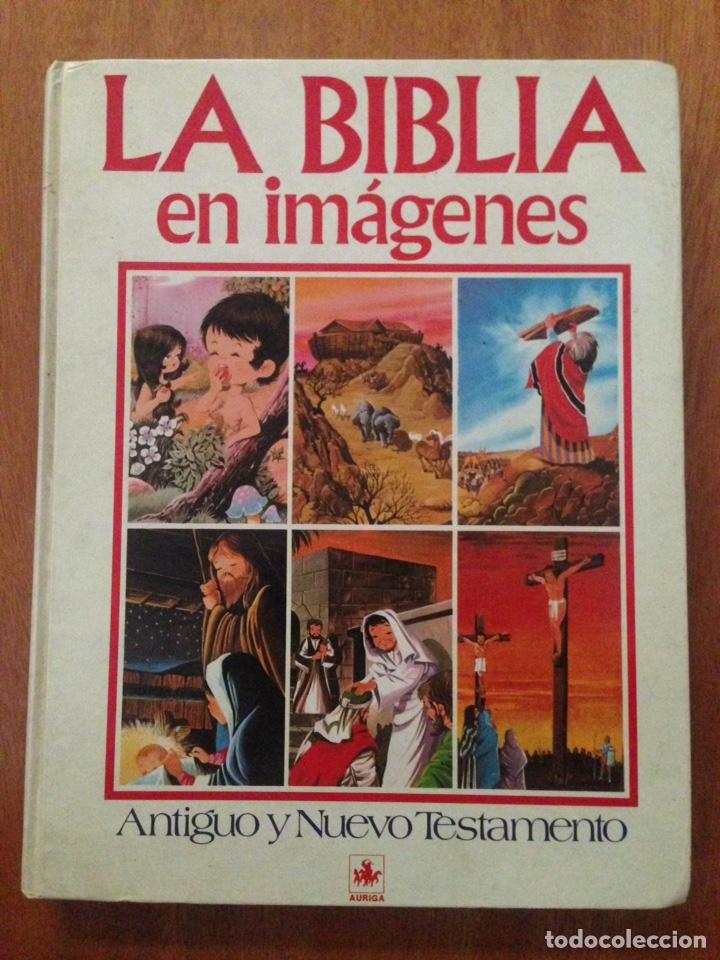 LA BIBLIA EN IMÁGENES (Libros Nuevos - Historia - Otros)