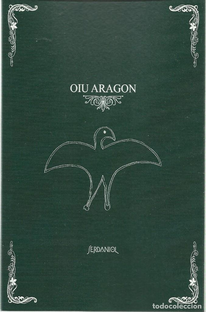 SERDANIOL: OIU ARAGON. (TEXTOS INÉDITOS DE ALEXANDRE ELEAZAR). STI EDICIONES, ZARAGOZA, 2018 (Libros Nuevos - Historia - Otros)