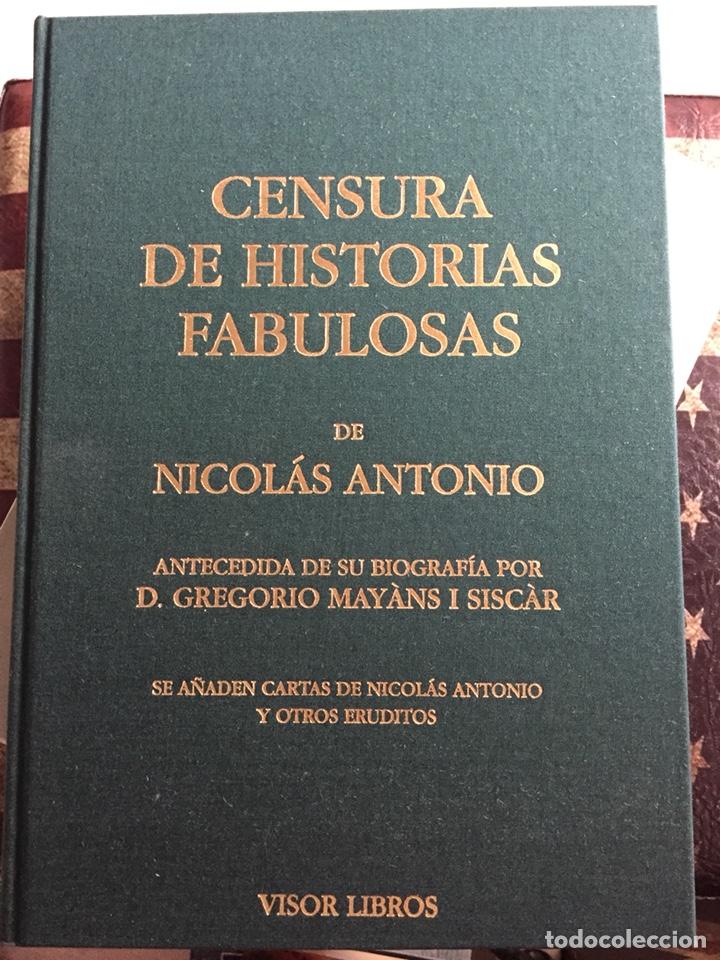 CENSURA DE HISTORIAS FABULOSAS (Libros Nuevos - Historia - Otros)