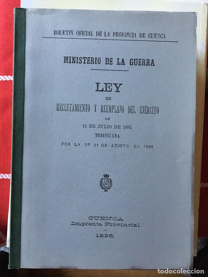BOLETÍN OFICIAL DE LA PROVINCIA DE CUENCA 1896 (Libros Nuevos - Historia - Otros)