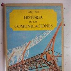 Libros: BJS. HISTORIA DE LAS COMUNICACIONES. VALERY PONTI. EDT. SALVAT. BRUMART TU LIBRERIA. . Lote 143296810