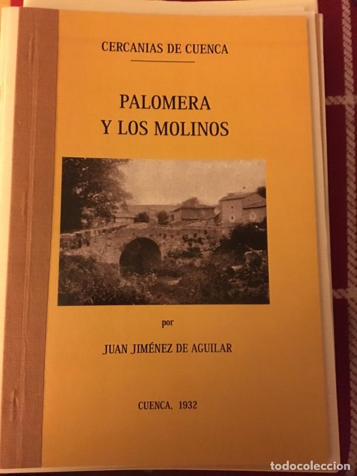 PALOMERA Y LOS MOLINOS (CUENCA)1932, JUAN JIMÉNEZ AGUILAR (Libros Nuevos - Historia - Otros)