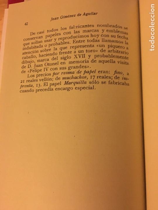 Libros: Palomera y los molinos (Cuenca)1932, Juan Jiménez Aguilar - Foto 5 - 157761084
