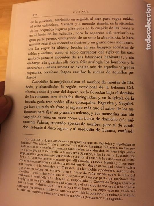 Libros: Cuenca 1875 José María quadrado y Vicente De la Fuente - Foto 3 - 145184853