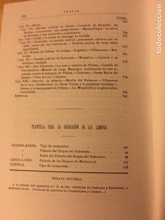 Libros: Cuenca 1875 José María quadrado y Vicente De la Fuente - Foto 5 - 145184853