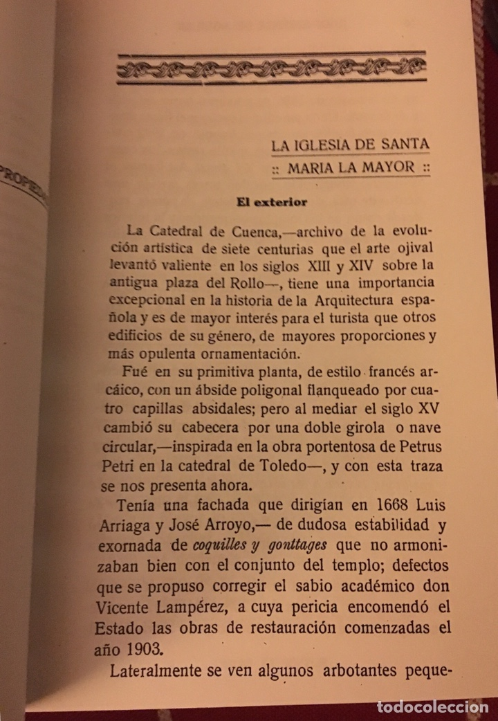 Libros: La catedral de Cuenca Juan Jiménez Aguilar - Foto 2 - 157760805